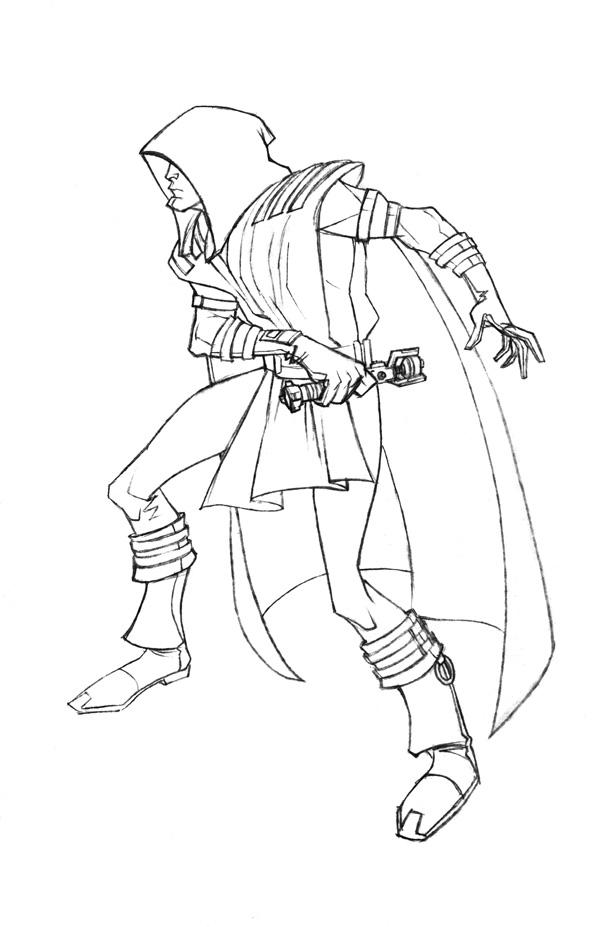 Star Wars Jedi Drawings Jedi