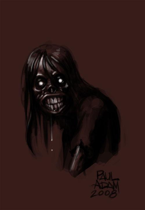 Paul Adam: SDCC 08 and Zombie Sketch